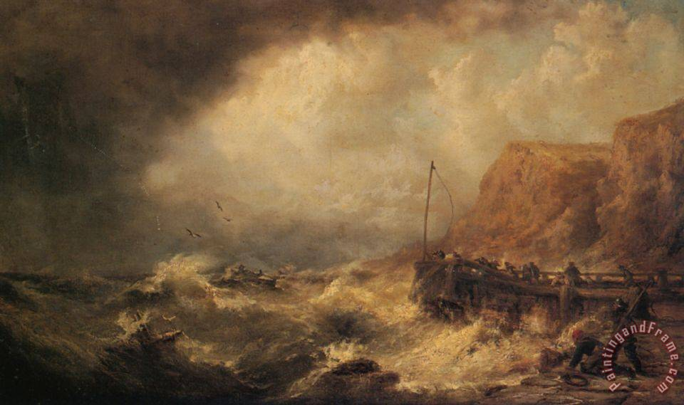 james webb shipwrecked painting shipwrecked print for sale