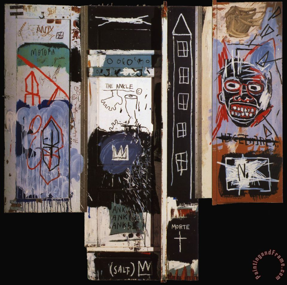 Jean Michel Basquiat Portrait Of The Artist As A Young