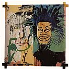 Which One Do You Love Best Prints - Dos Cabezas by Jean-michel Basquiat