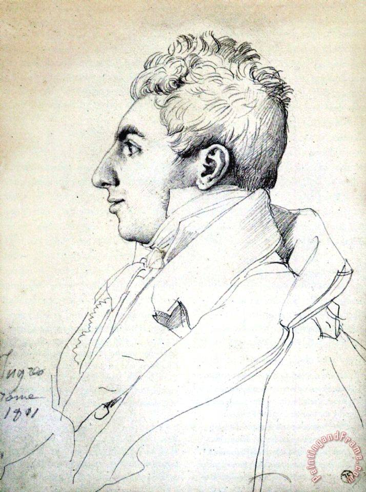 Jean Auguste Dominique Ingres Portrait