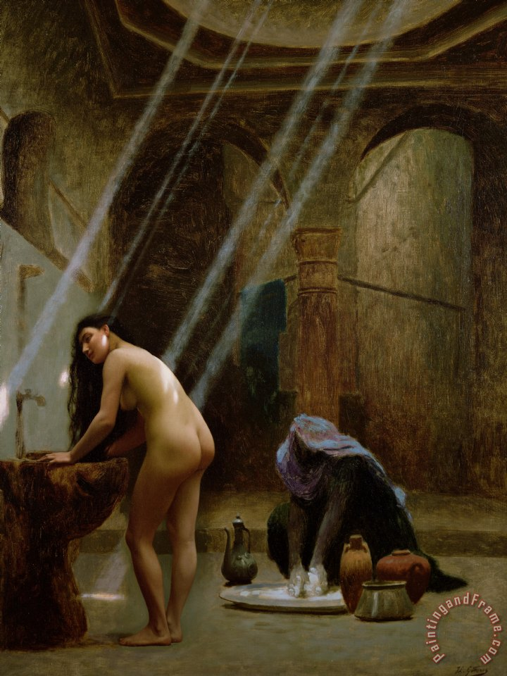 Jean Leon Gerome The Moorish Bath Art Print