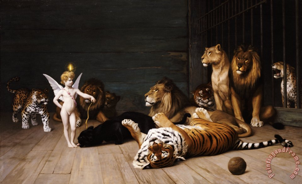 Jean Leon Gerome Whoever you are Here is your Master Art Print