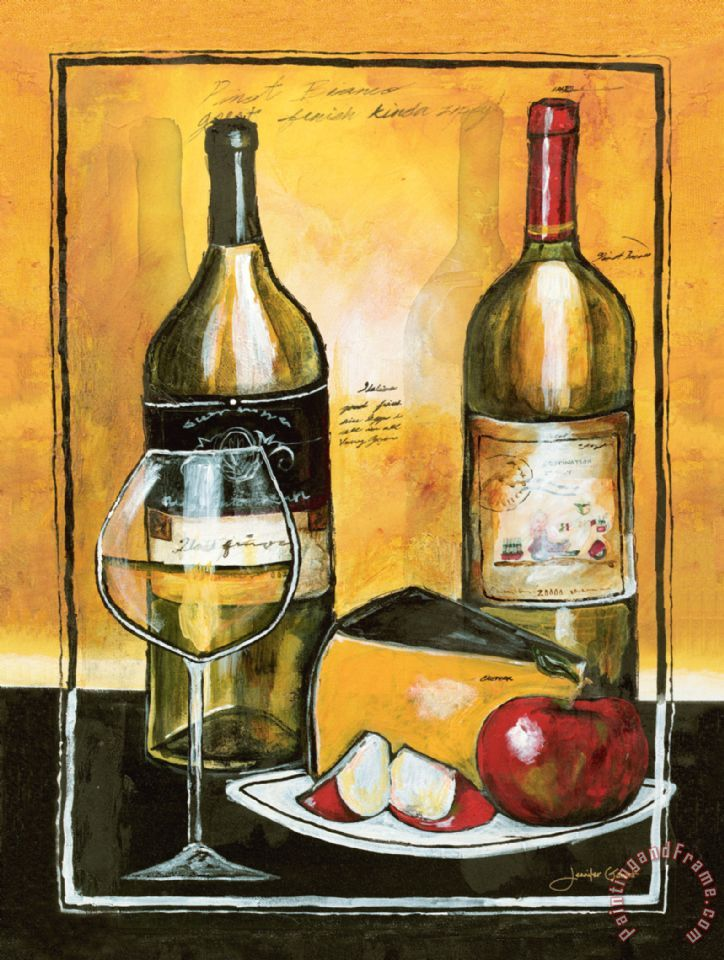 Jennifer garant wine notes i painting wine notes i print for Wine and painting mn