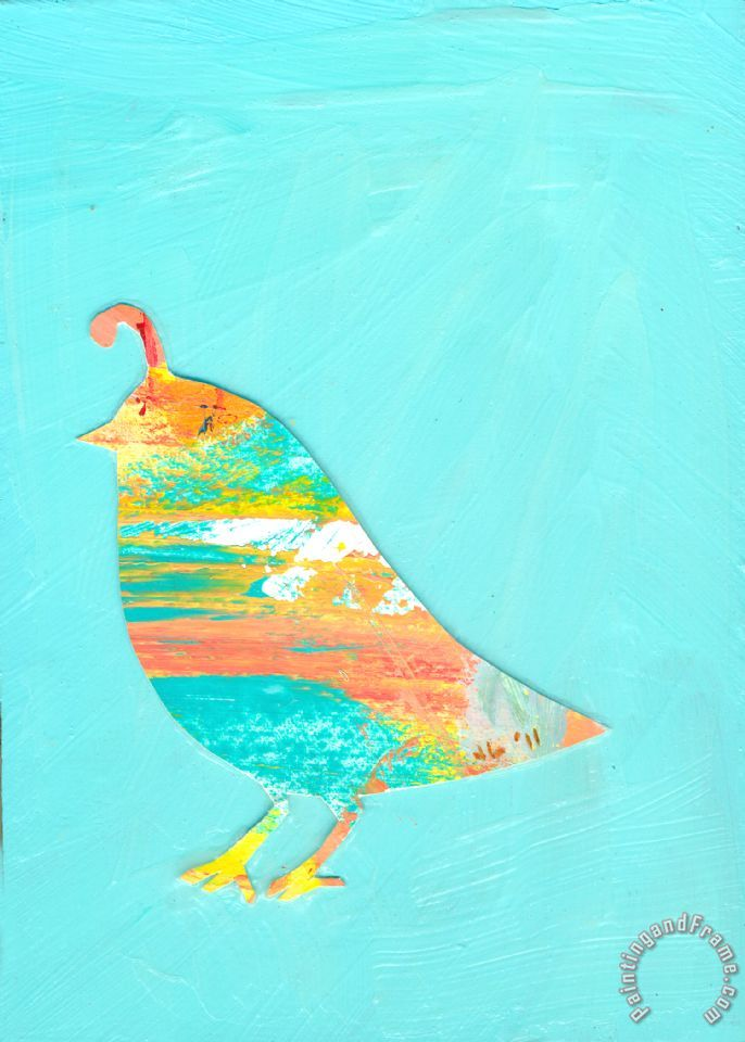 Jennifer Lommers Becoming Quail Art Print