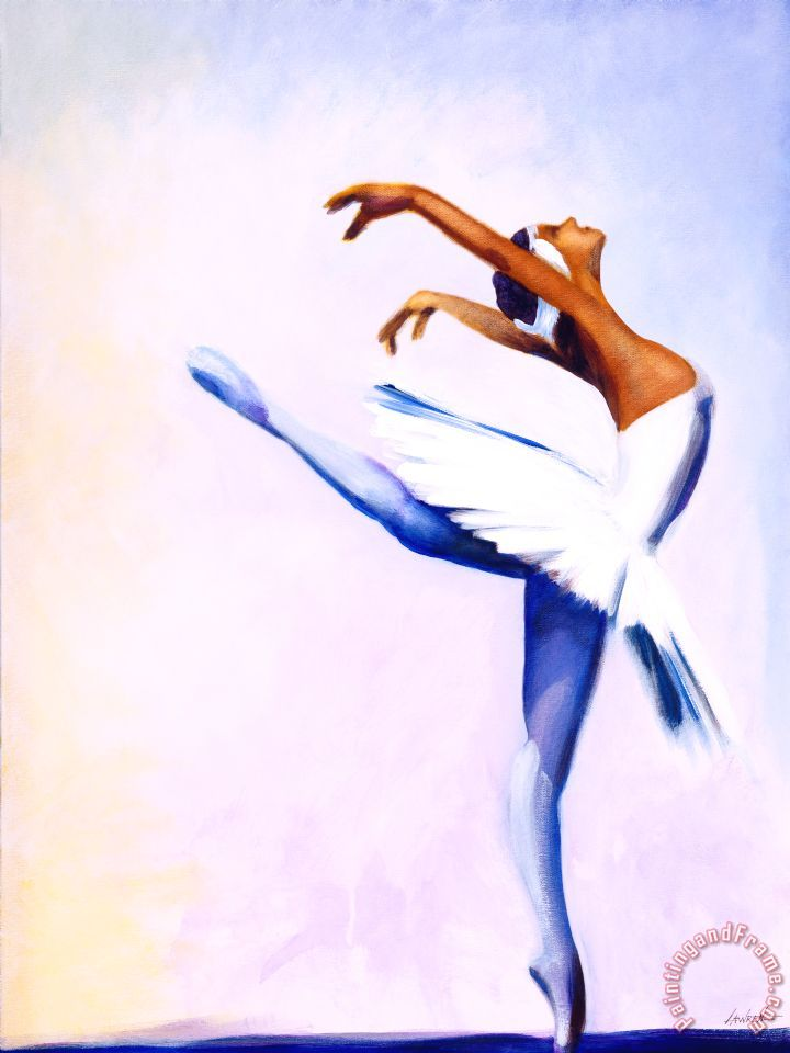 Jerome Lawrence Enjoy the Dance Art Print