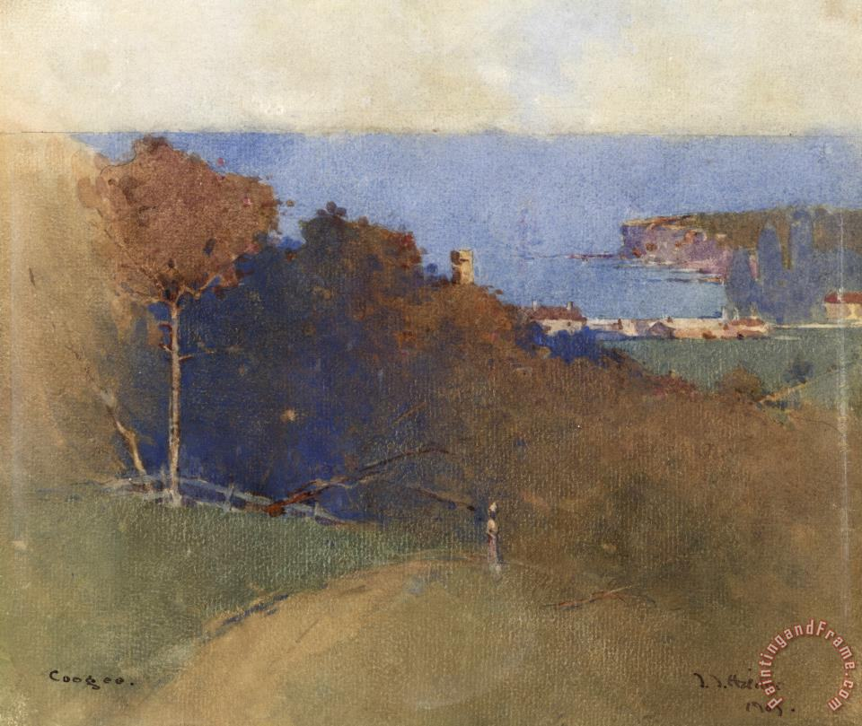 J J Hilder Coogee Painting Coogee Print For Sale