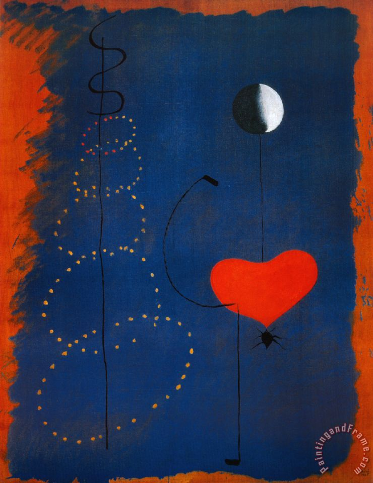 Joan Miro Ballerina Dancer Art Print