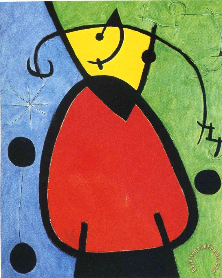 Joan Miro The Birth of Day Art Print