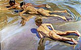 Children on the Beach by Joaquin Sorolla y Bastida