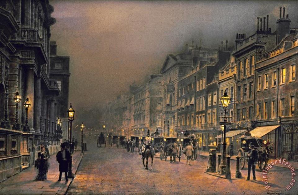 John Atkinson Grimshaw  - Page 3 St_james_s_street