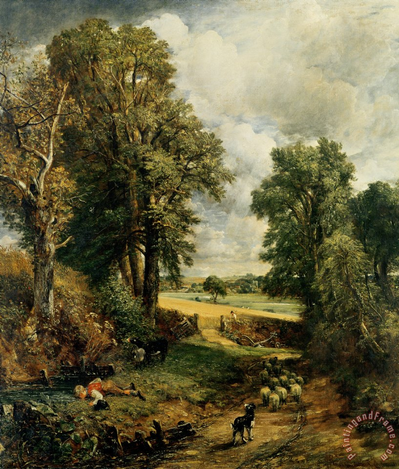 John Constable The Cornfield Art Print