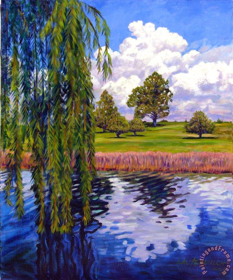 John Lautermilch Weeping Willow - Brush Colorado Art Painting