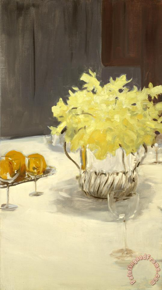 Still Life with Daffodils painting - John Singer Sargent Still Life with Daffodils Art Print