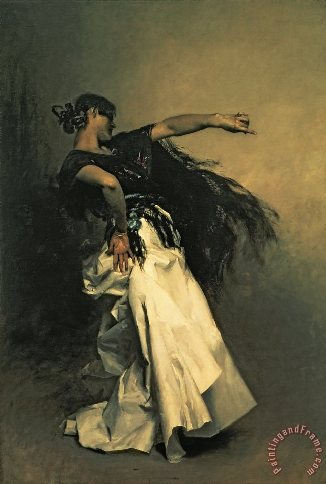 John Singer Sargent The Spanish Dancer Art Print