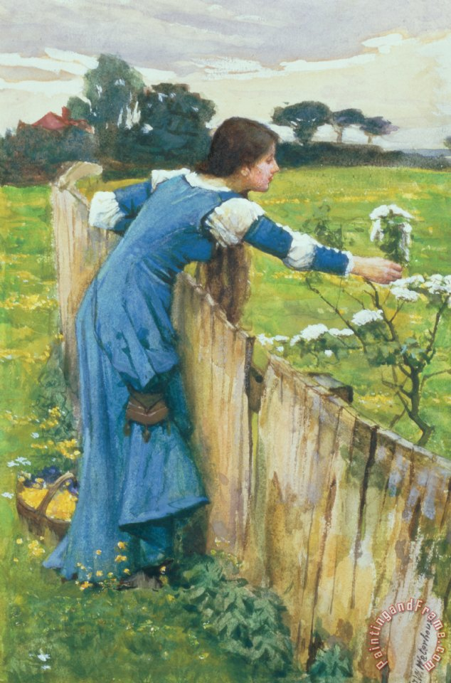 John William Waterhouse Spring Art Print