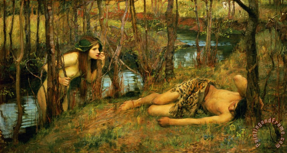 John William Waterhouse The Naiad Art Print