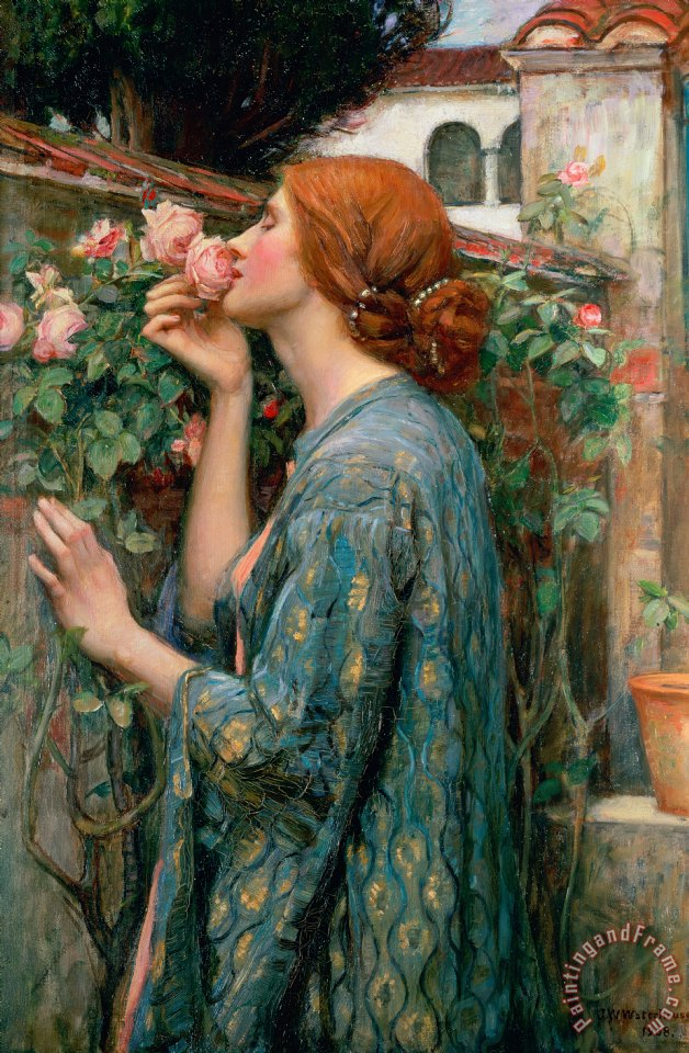 John William Waterhouse The Soul of the Rose Art Painting