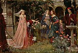 The Enchanted Garden by John William Waterhouse