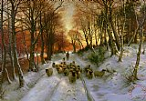 Glowed with Tints of Evening Hours by Joseph Farquharson
