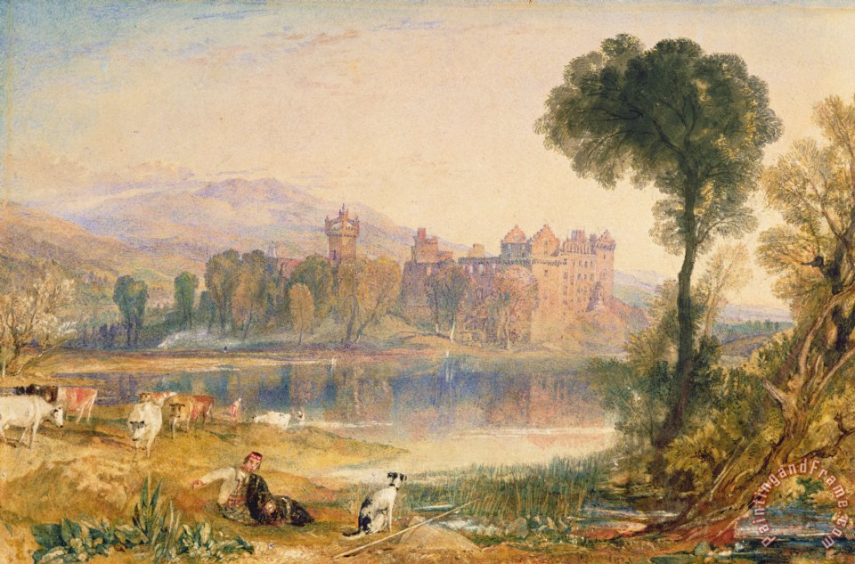 Joseph Mallord William Turner Linlithgow Palace Painting