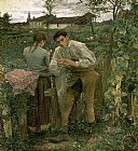 Which One Do You Love Best Prints - Rural Love by Jules Bastien Lepage
