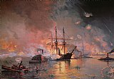 Capture of New Orleans by Union Flag Officer David G Farragut by Julian Oliver Davidson