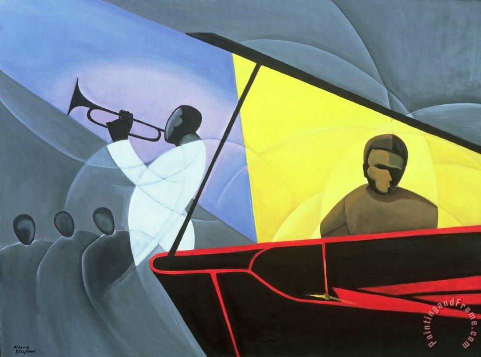 Kaaria Mucherera Hot And Cool Jazz Painting Hot And Cool