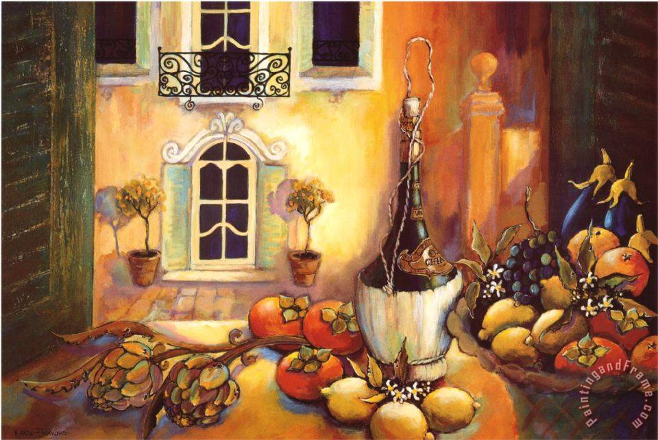 Kitchen Wall Paintings Images