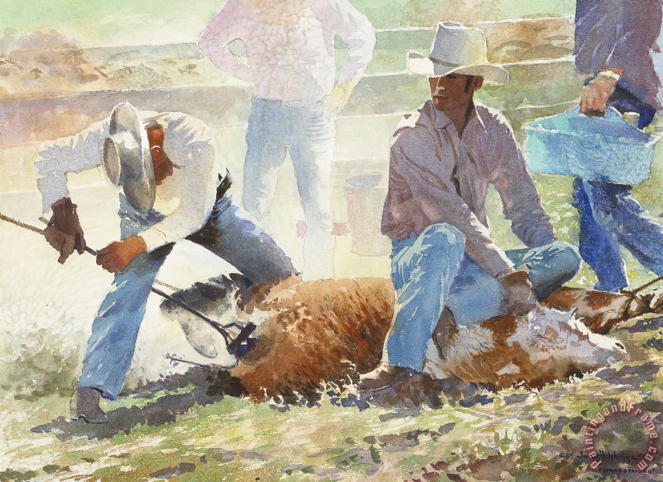 Lavere Hutchings Spring Branding Painting Spring