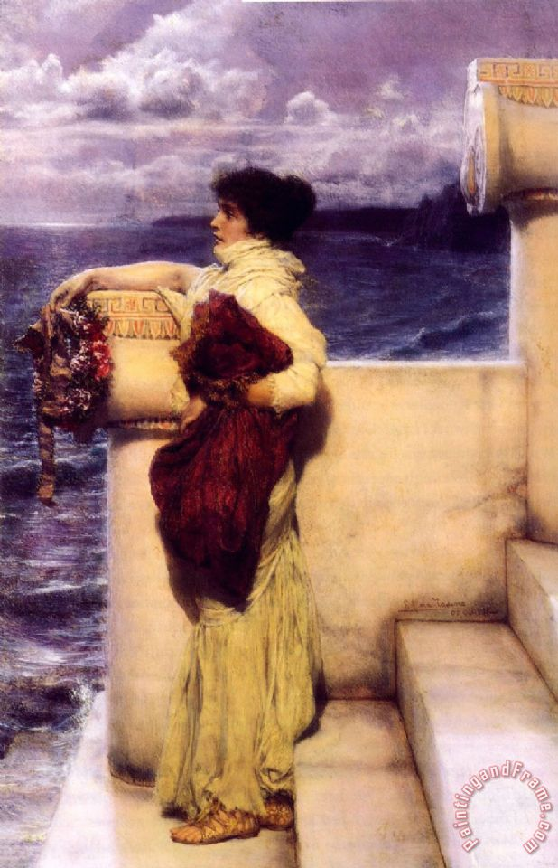 Lawrence Alma-tadema Hero Art Painting