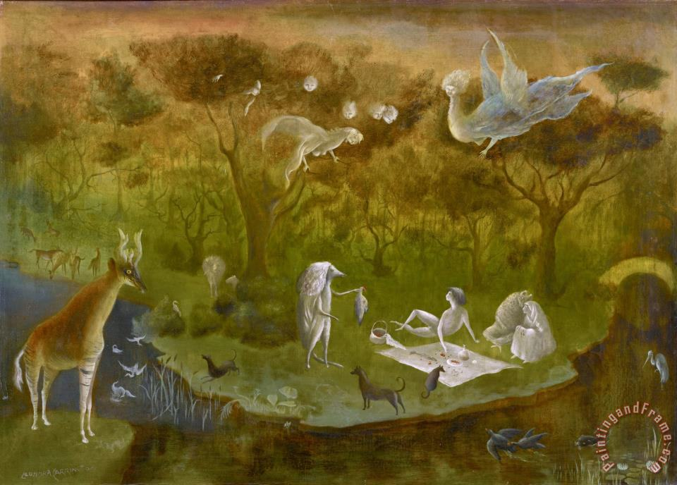 Leonora Carrington Pastoral (angel Hunters) Art Painting