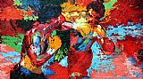 Rocky vs Apollo by Leroy Neiman
