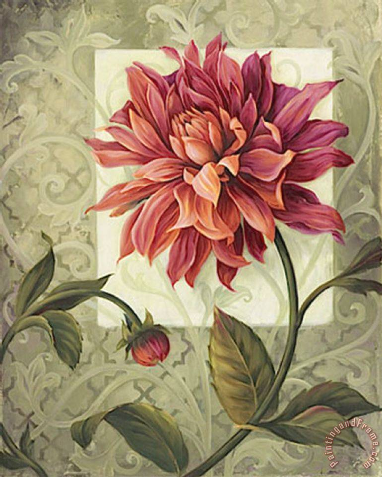 Vintage Floral Paintings For Sale