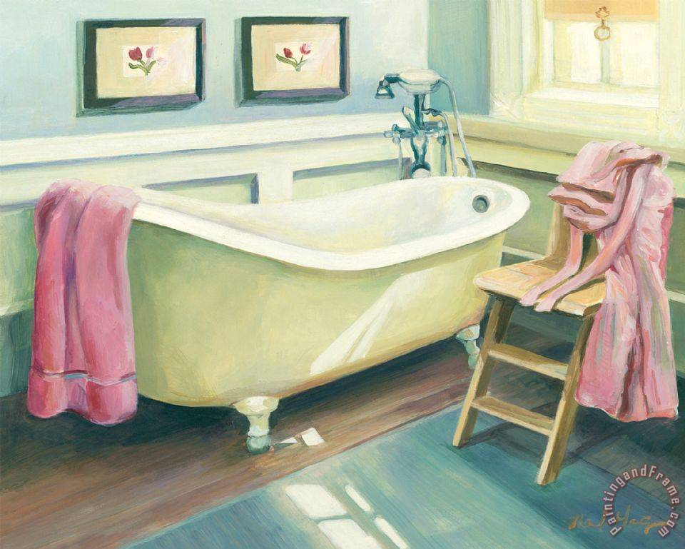 Painting Bathtub Art