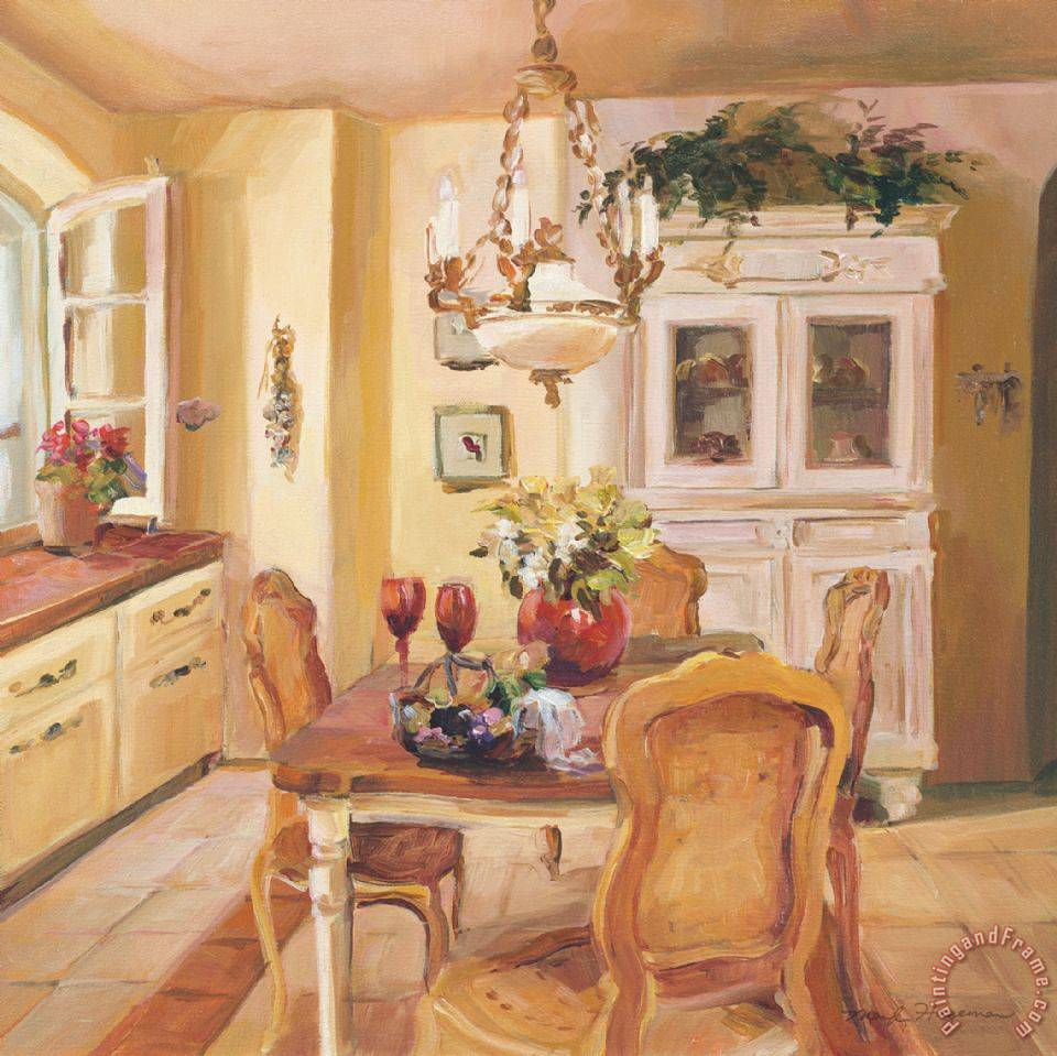 Marilyn Hageman French Kitchen I Painting