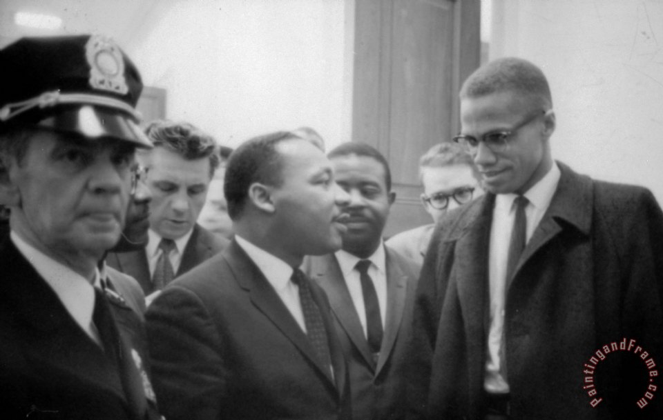 Martin Luther King Jnr 1929 1968 And Malcolm X Little
