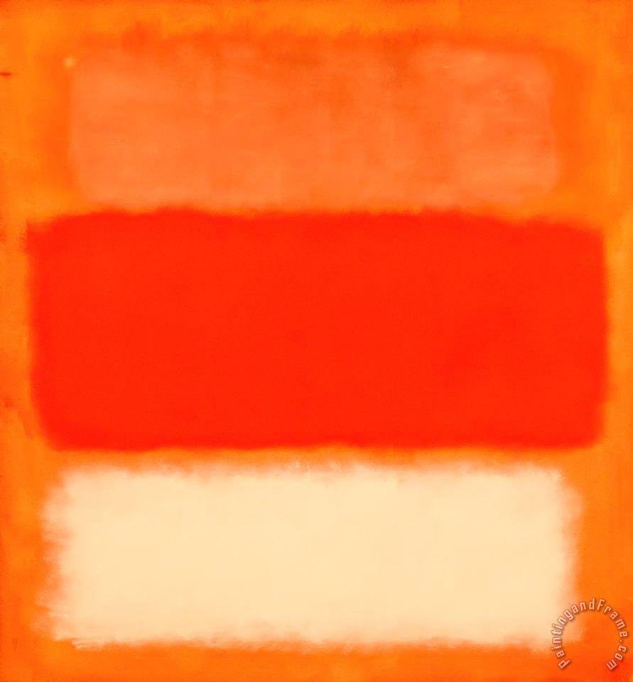 rothko in orange painting mark rothko rothko in orange art print