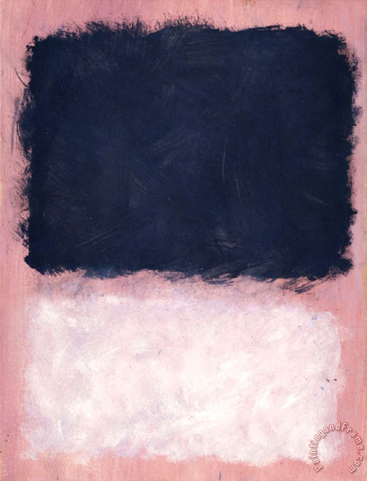 Untitled 1967 painting - Mark Rothko Untitled 1967 Art Print