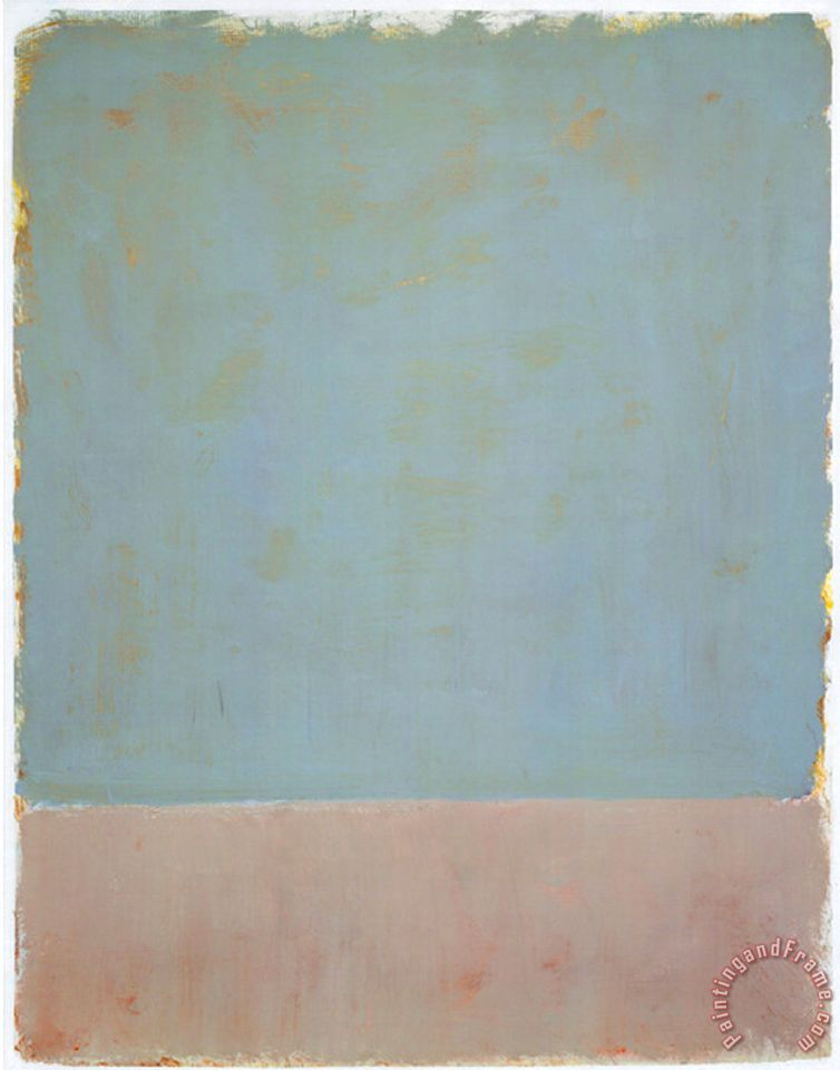 Mark Rothko Untitled 1969 Art Print