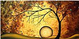 Megan Aroon Duncanson Prints - Art Across The Golden River by Megan Aroon Duncanson