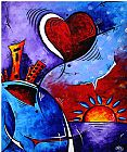 Megan Aroon Duncanson Prints - City in Motion by Megan Aroon Duncanson