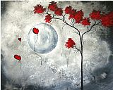 Megan Aroon Duncanson Prints - Far Side of The Moon by Megan Aroon Duncanson