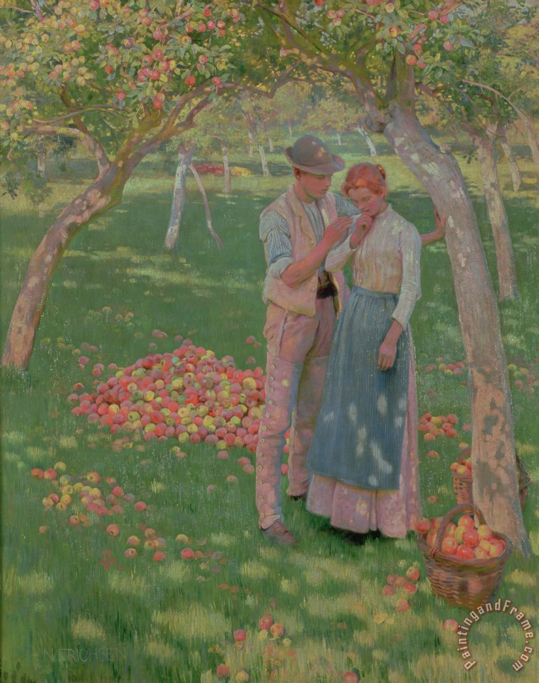 Nelly Erichsen The Orchard Art Print
