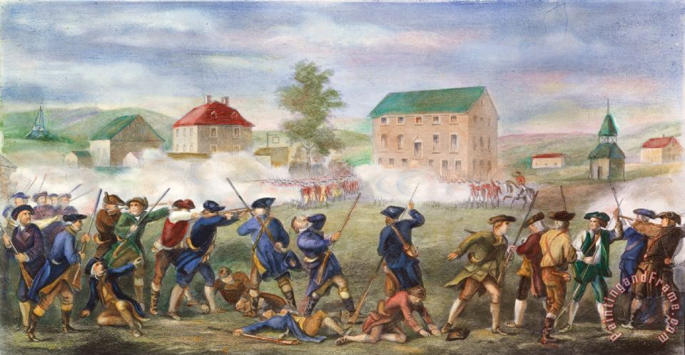 battle of lexington and concord Lexington and concord, battles oflexington and concord,  battles of on the evening of 18 april 1775 the british military governor of.