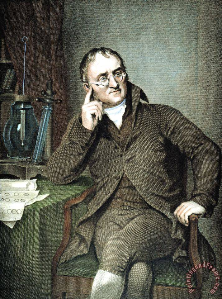 Others John Dalton 1766 1844 Painting John Dalton