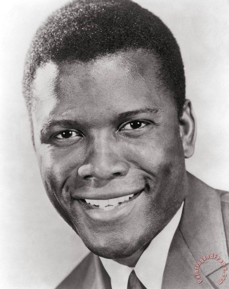 Image result for young sidney poitier pictures