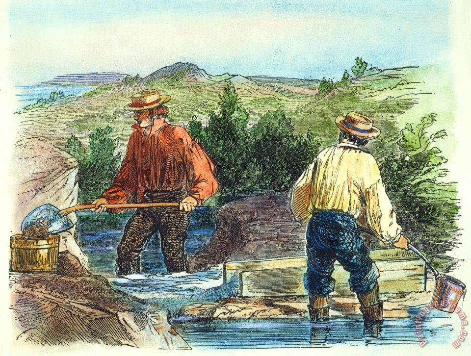 the california gold rush The california gold rush was a remarkable episode in history sparked by the discovery of gold at sutter's mill, a remote outpost in california, in january 1848 as rumors of the discovery spread, thousands of people flocked to the region hoping to strike it rich.