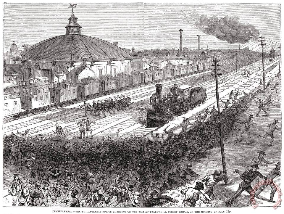 what was the great railroad strike of 1877