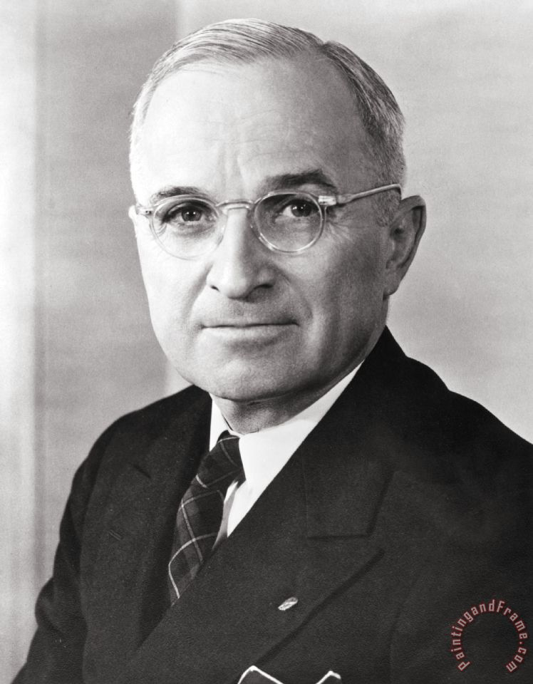 """a biography of harry s truman The """"s"""" in harry s truman is just an initial it doesn't stand for anything he was the captain of an artillery company during world war i according to the harry truman library, truman and his unit """"saw action in the vosges, saint mihiel and meuse-argonne campaigns""""."""