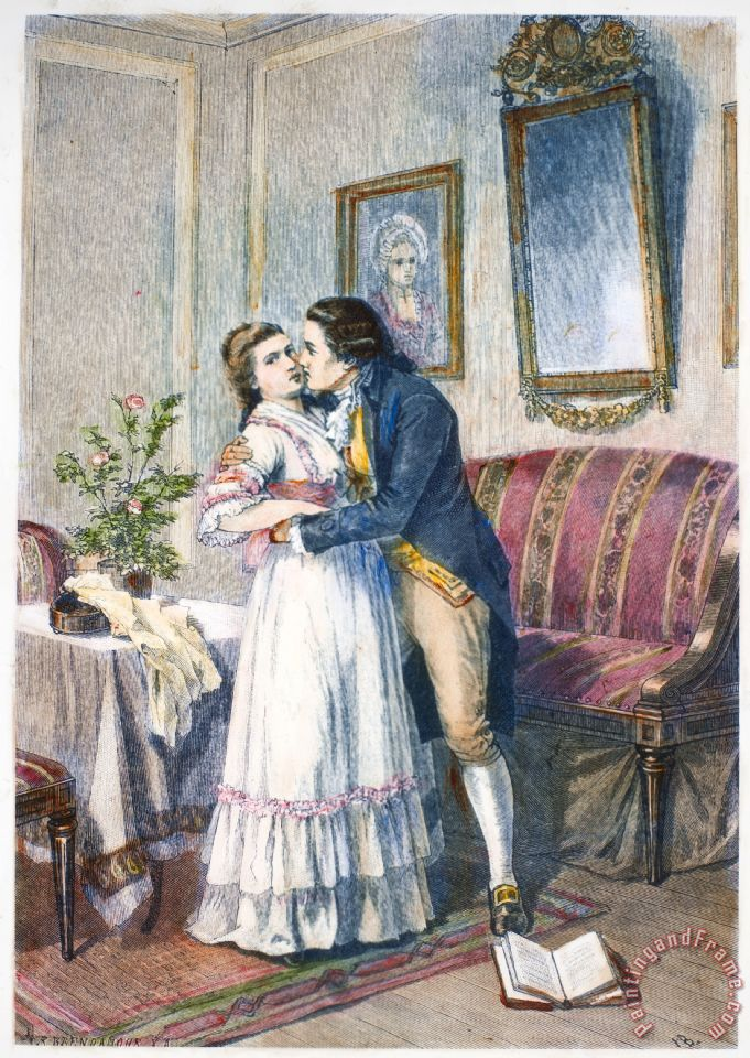 Others Goethe Werther Painting Goethe Werther Print